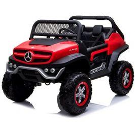 Mercedes Unimog červený