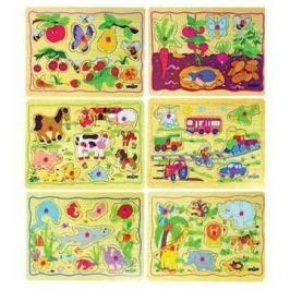 Woody Puzzle na desce - 1 ks Puzzle
