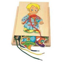 Woody Šněrovací šatní skříň - Chlapeček Naučné