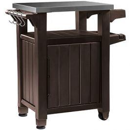Keter Unity 105 L Grilovací stolek hnědý