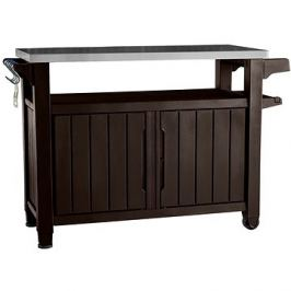 KETER UNITY XL 207 L hnědá multifunkční úložný stůl