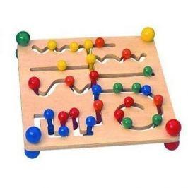 Woody Velký motorický labyrint s kuličkami