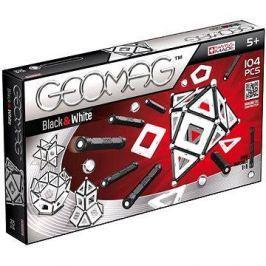 Geomag - Panels black/white 104 dílků