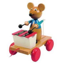 Woody Tahací myš s xylofonem Figurky a zvířátka