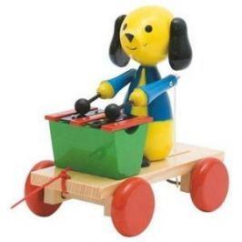 Woody Tahací pes s xylofonem Figurky a zvířátka