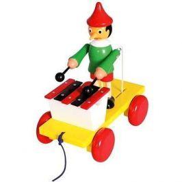 Tahací Pinocchio s xylofonem