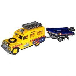 Monti system 63 - Land Rover-vlek s loďkou/člunem 1:35