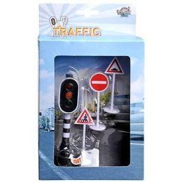 Funkční semafor a dopravní značky