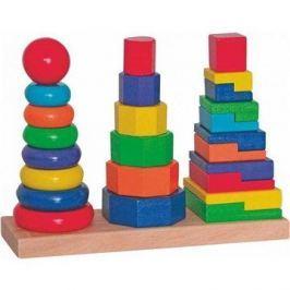 Woody Set skládacích věží Naučné