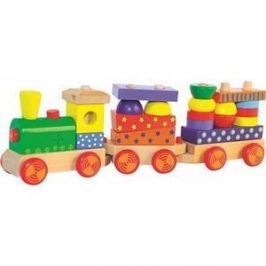 Woody Skládací vlak se světlem Naučné