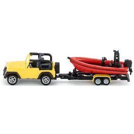 Siku Blister – Jeep s člunem Kovové modely