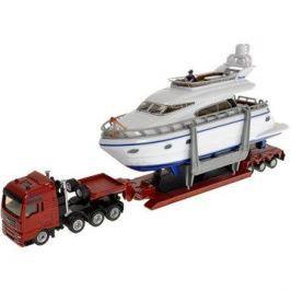Siku Super – Přeprava těžkého nákladu s jachtou Kovové modely