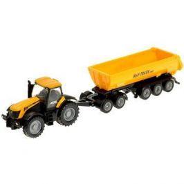 Siku Farmer - Traktor se sklápěcím přívěsem Kovové modely