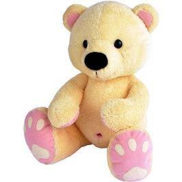 Medvěd Pupík béžovo–růž. 60cm