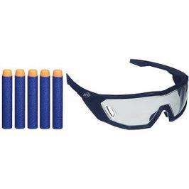 Nerf Elite brýle a 5 ks šipek