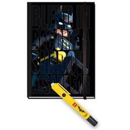 LEGO Batman Movie Zápisník s neviditelným perem Batman