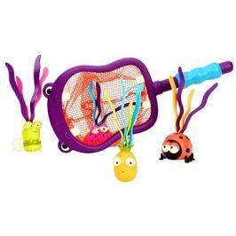 B-Toys Podběrák s hračkami potápění Hroch Hubba