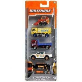 Mattel Matchbox - Angličák 5ks Auta a motorky
