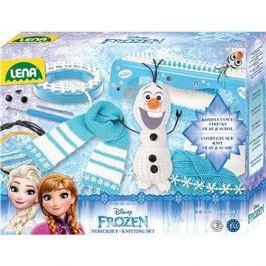Lena Disney pletení Ledové království