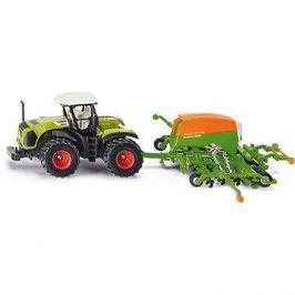 Siku Farmer – traktor se secím přívěsem