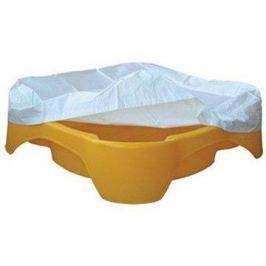 Pískoviště - bazének Čtverec oranžové s krytím