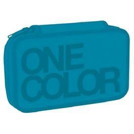 Dvoupatrový One Colour tyrkys