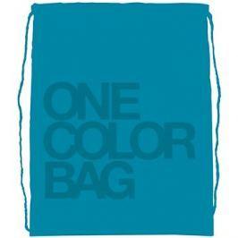 Studentský vak One Color tyrkys