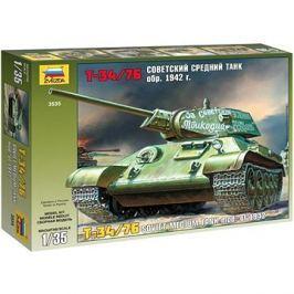 Zvezda Model Kit Z3535 tank – T-34/76 Soviet tank mod. 1942