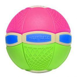 Phlat Ball junior svítící růžovo-zelený