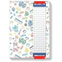LEGO Stationery Zápisník bílý