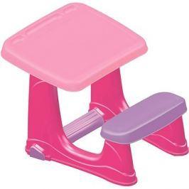 DOLU Dětský stolek s lavicí, růžový