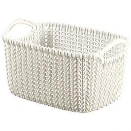 Curver Knit košík 3L krémový