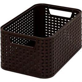 Curver Style box S tmavě hnědý