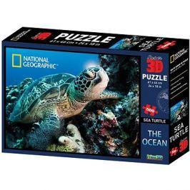 National Geographic 3D Puzzle Želva 500 dílků