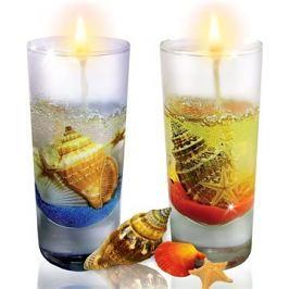 Výroba svíček - mořská fantazie