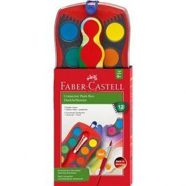 Faber-Castell Vodové Barvy Connector, 12 Barev