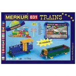 Merkur železniční modely 211 dílů Merkur