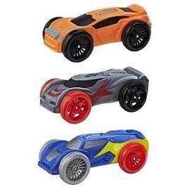 Nerf Nitro náhradní nitro autíčka 3 ks mix barev