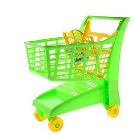 Nákupní vozík zelený