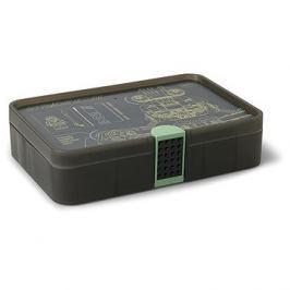 LEGO Ninjago Úložný box s přihrádkami - army zelená