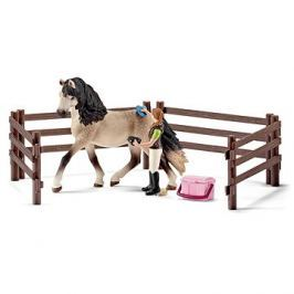 Schleich 42270 Péče o koně Andalusianského