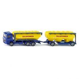 Siku Farmer - kamion s přívěsem pro krmivo