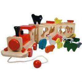 Bino Vlak se zvířátky - Zoo Trenino