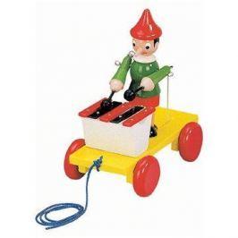 Bino Tahací Pinocchio s xylofonem Hudební hračky