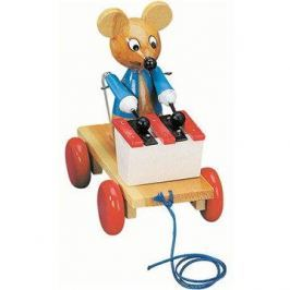 Bino Tahací myš s xylofonem Figurky a zvířátka
