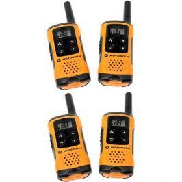 Motorola TLKR T82 Extreme, Quadpack, žlutá/černá