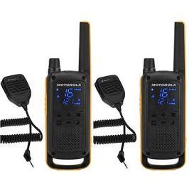 Motorola TLKR T82 Extreme, RSM Pack, žlutá/černá