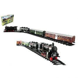 Vlak + 3 vagóny s kolejemi 24 ks