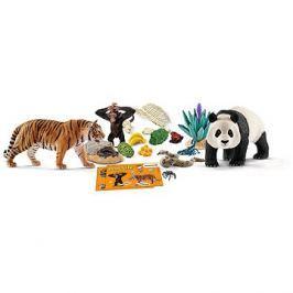 Schleich 97433 Adventní kalendář 2017 - Africká zvířata