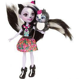 Enchantimals Panenka se zvířátkem Sage Skunk
